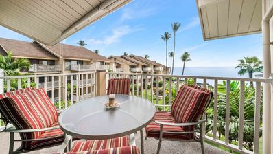 Photo for Ocean view lanai beauty w/ shared pool, hot tub, BBQ area