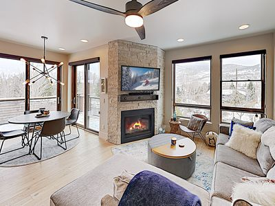 Photo for Brand-New Condo by the Blue River - Close to Downtown, Ski Resorts