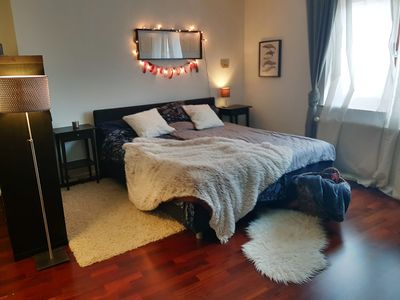 Photo for Beautiful apartment with wood stove at the gates of Frankfurt