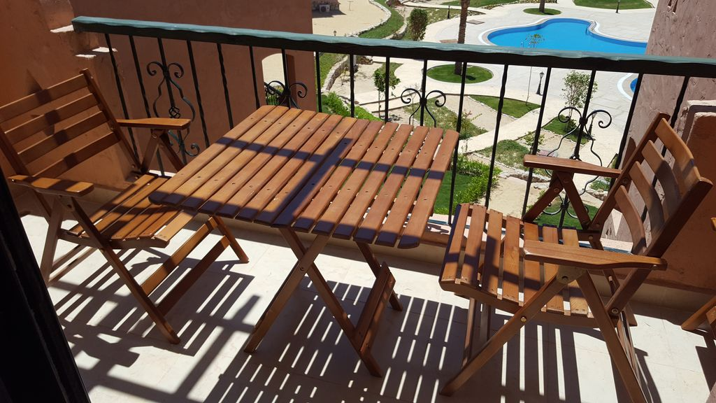Newly and elegantly furnished Chalet in lahacienda-resort Ras Sudr, enjoy fin