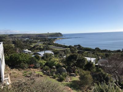 Photo for Stunning Coles Beach with amazing ocean views and short stroll to the beach.