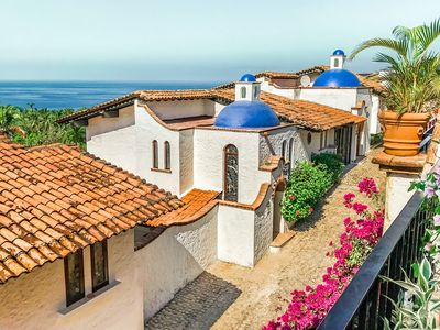 Photo for Historic Garza Blanca Villa: Private Pool, Breathtaking Views, Steps to Ocean