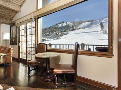Photo for SKI-IN/SKI-OUT PENTHOUSE WITH DIRECT VIEWS OF THE SLOPES