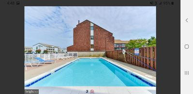 Photo for Our private community pool, two bbq (buy charcoals) & walk to beach