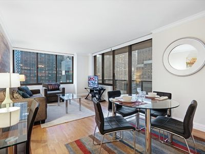 Photo for Beautiful 1BR Apt | Upscale Amenities | Midtown by GLS