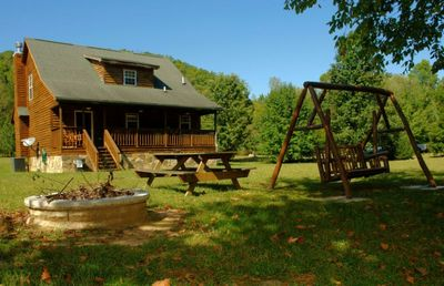 Photo for Creek View Cabin - 3 Bedrooms, 2.5 Baths, Sleeps 8