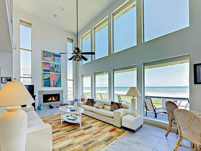 Beachfront Getaway w/ Stunning Views, Private Boardwalk to Beach & Huge Deck