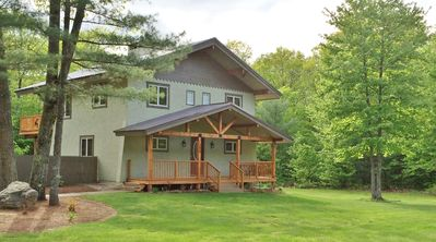 Photo for Newly Renovated, All Season Chalet-Style Home For A Family Or Friend Get Away