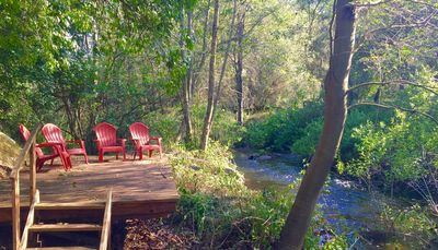 Secluded River Deck; so tranquil