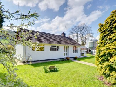 Photo for A good choice for walkers and country lovers, this bungalow on a dairy farm near the village of Llan