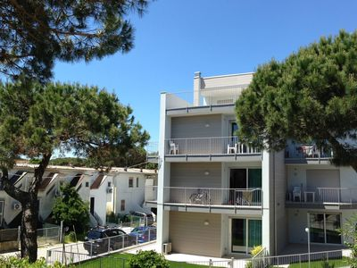 Photo for Modern holiday home close to sea front, in Rosolina Mare, near Venice.