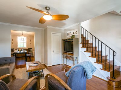 Photo for Old Town Home-Away-from-Home, Easy Walk to Metro