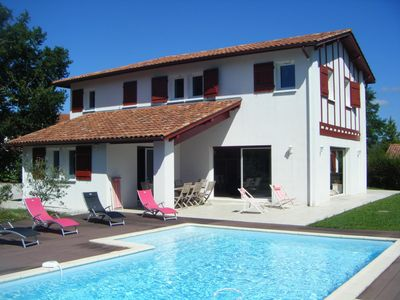 Photo for Big contemporary baserri with a swimming pool and a garden for up to 16 people