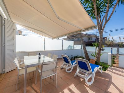 Photo for Near the Beach and with Terrace - Can Bennasar