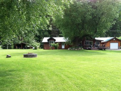 Photo for Lakefront Estate-  Home & 3 small Cabins ON BULL LAKE