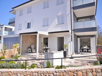 Photo for Apartments Stefi, (14506), Njivice, island of Krk, Croatia