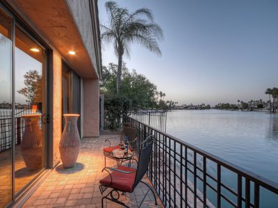 Photo for Gorgeous Lakefront Dream Home; 2 Boat Docks; Fire Pit; Community Pool & Hot Tub