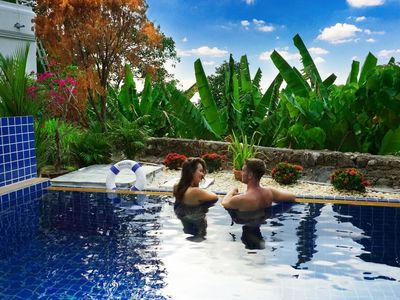 Photo for Patong Hill sea view villa 4 bedroom private pool