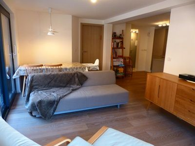 Photo for Apartment sleeps 6 in the heart of the village SOLDANELLES13