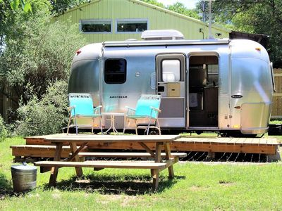 Photo for Tiny Home, Airstream-Style! You'll Love This Eclectic Airstream in Downtown Austin. SoCo, ACL, SXSW!