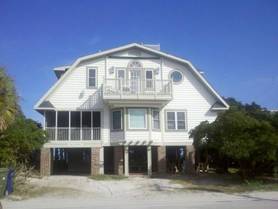 Photo for Whole House - Front Beach and Creek Dock-the Best of Pawleys (Sleeps 21) 7BR 4B