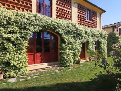 Photo for B&B inside a big farm-estate on the lucca's hills with swimming pool,tennis,wifi