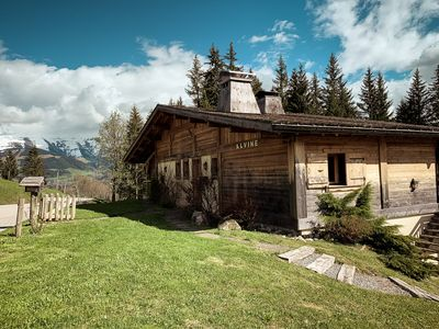 Photo for Chalet with views of Mont Blanc, close to the ski slopes