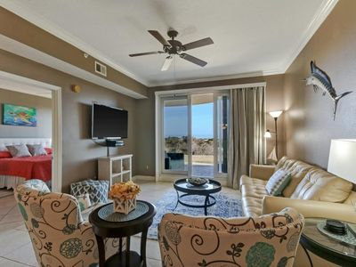 Photo for Beautiful Ground floor Oceanfront unit w/ LARGE private patio!