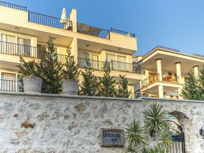 Photo for Penthouse Apartment with own plunge pool, in Central Kalkan with sea views