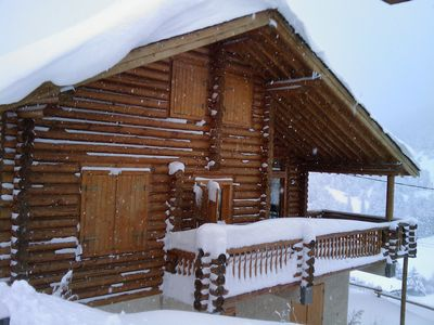 Photo for Log cabin in St Pierre del Forcats 5 bedrooms, 1 kitchen, 3 bathrooms, 3 toilets, sauna
