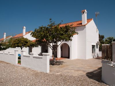 Photo for Home On the Beach with Spacious Terrace, Garden, Wi-Fi & Air Conditioning; Parking Available
