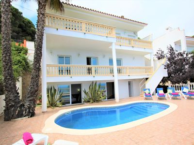 Photo for Villa with private pool, sea views, 4 bedrooms, wifi throughout the house