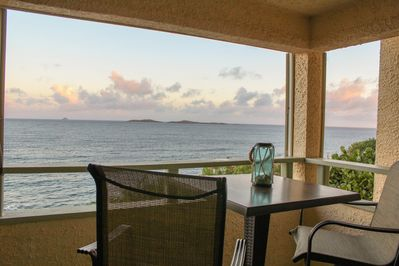 Enjoy a meal or an island-cocktail on your own balcony, with amazing views!
