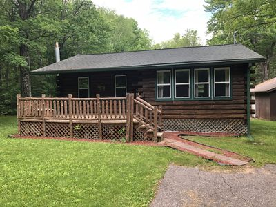 Photo for Evergreen Cabin Rental