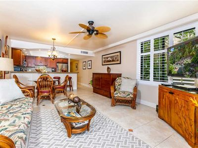 Photo for Brilliant Remodel, Central AC, ground floor, 1bd condo with Private lanai at Kamaole Sands. K6101