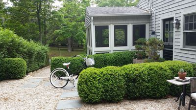 Photo for Sag Harbor Village SOPHISTICATED Beach Bungalow