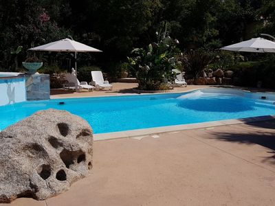 Photo for House 177 m from the center of Coti-Chiavari with Parking, Pool, Garden, Terrace (109611)