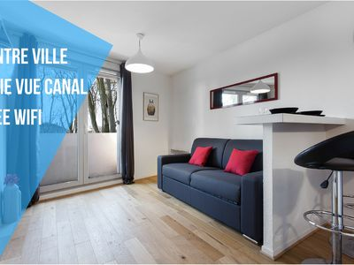 Photo for Apartment Toulouse Centre Canal to Brienne