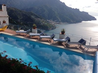 Photo for VILLA Porta Donica Ravello great views swimming pool gardens and garage