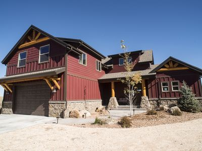 Photo for Lowest August Rates ever offered!  Large Luxury Cabin