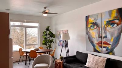 Photo for Vibrant condo, sparkling clean with fast wifi