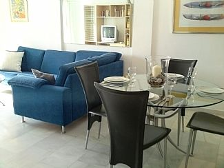 The apartment is furnished to a high standard