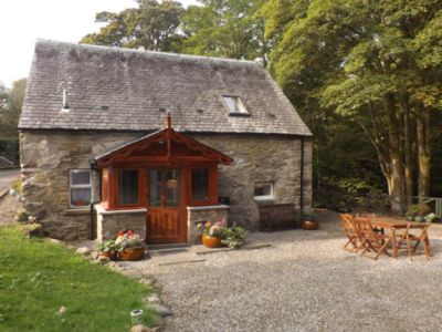 Photo for Barn Cottage, beautifully located by the Falls of Dochart