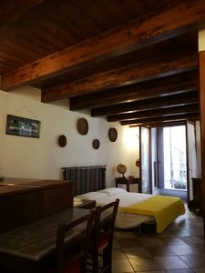 Photo for Central Apartment with Wi-Fi, Air Conditioning and Balcony; Parking Available