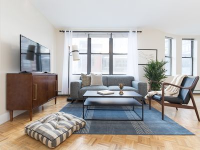 Photo for Spacious 1BR in Financial District by Sonder