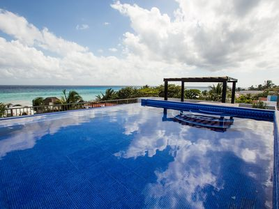 Photo for Luxury Villa With Panoramic Ocean Views!  Steps Away From The Ocean!