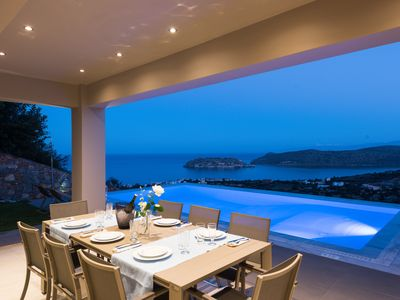 Photo for Villa Topaz - Elounda Luxury Villas - 3 bedroom villa