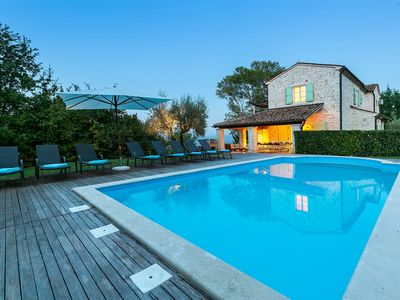 Photo for Rustic Casa Bella, in Istria, with a Pool