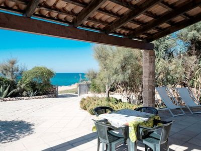 Photo for Holiday home directly on the beach - Trullo a dieci passi dal mare