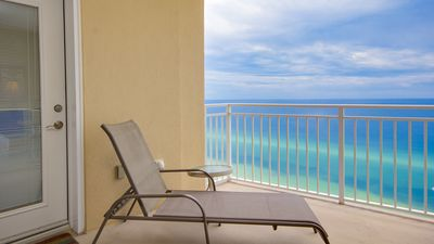 Photo for Beach-Front Unit! Beach Chair Service! Hot Tub + Pool On Site!
